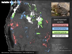 Spatially-sensitive Species Distribution Model
